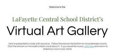 The LCSD Virtual Art Show is Live!